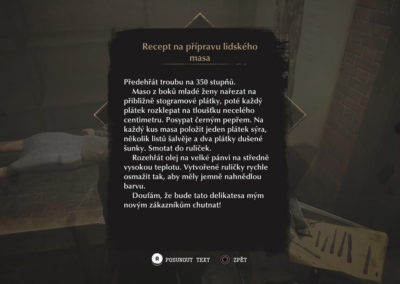 The Sinking City - recept na sváteční oběd