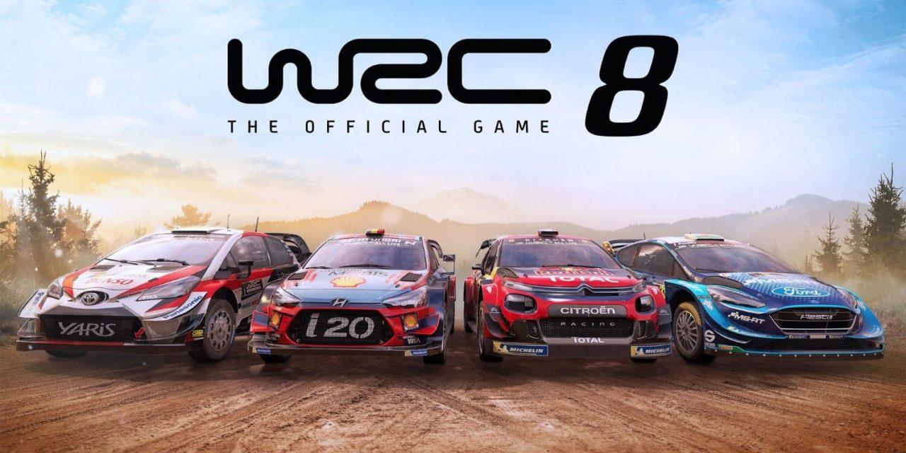 WRC 8 FIA World Rally Championship – recenze