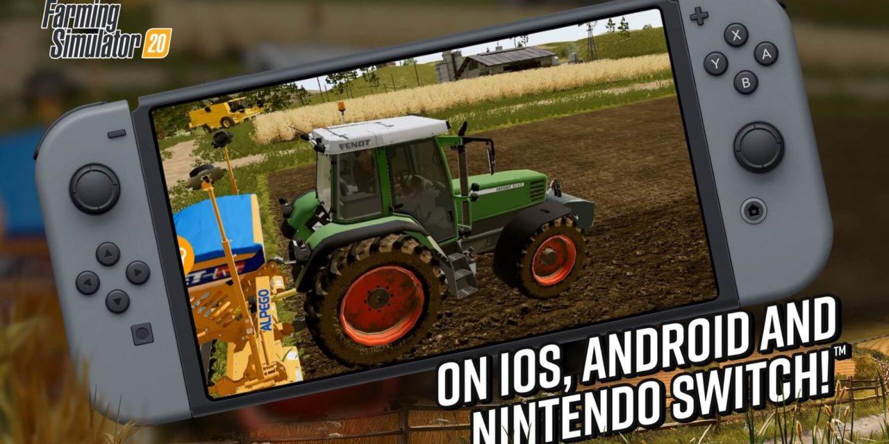 Nintendo Switch Farming Simulator 20 – recenze