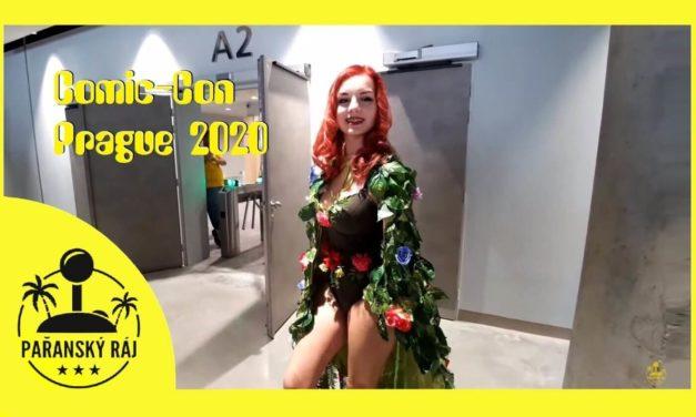 Comic-Con Prague 2020 – Pařanská reportáž sRudou a Terezkou