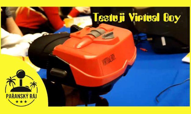 Testuji Virtual Boy (1995-1996) – neúspěšné 3D VR od Nintenda
