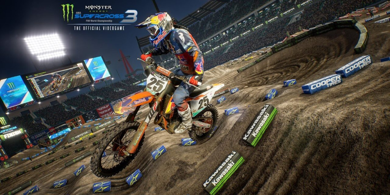 Monster Energy Supercross 3: The Official Video Game – recenze